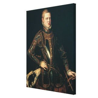 King Sebastian  of Portugal, c.1571 Canvas Print