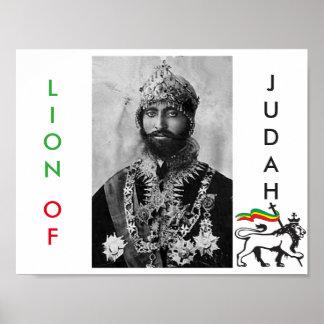 King Selassie I Poster