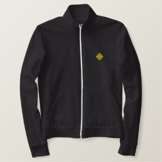 Kingdom of Jerusalem Embroidered Track Jacket