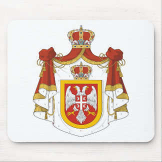 Kingdom of Serbia Mouse Pad