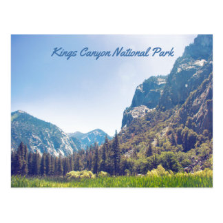 Kings Canyon - Zumwalt Meadow | Postcard