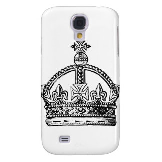 King's Crown background Galaxy S4 Case
