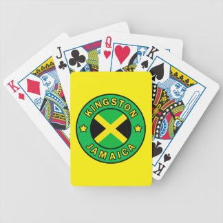 Kingston Jamaica Bicycle Playing Cards
