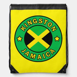 Kingston Jamaica Drawstring Bag
