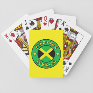 Kingston Jamaica Playing Cards