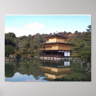 Kinkakuji - Kyoto - Japan Poster