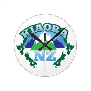 Maori Wall Clocks Zazzle Co Nz