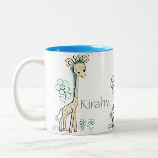 Kirahvi -- Cute Finnish Giraffe Mug