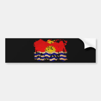 Kiribati Flag Bumper Sticker