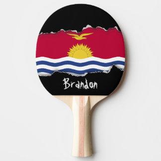 Kiribati Flag Ping Pong Paddle