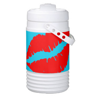 Kiss Me Drinks Cooler