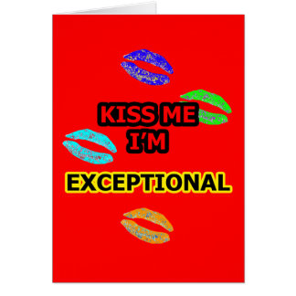 KISS ME EXCEPTIONAL Black Yellow Red The MUSEUM Za Card