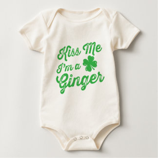 Kiss Me I'm a Ginger! Baby Bodysuit