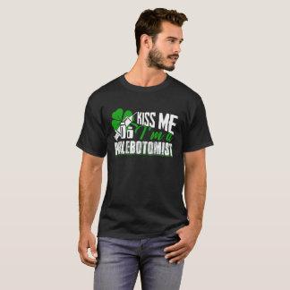Kiss Me I'm A Phlebotomist Shirt