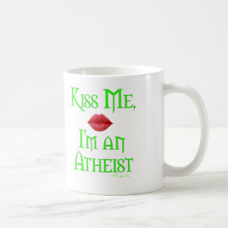 Kiss Me, I'm an Atheist Mugs