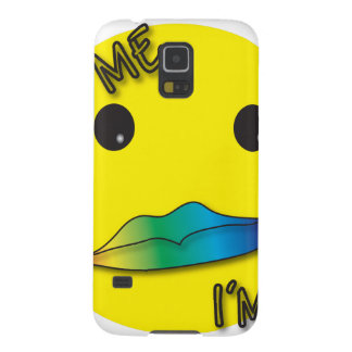 Kiss Me! I'm Gay Cases For Galaxy S5