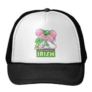 Kiss Me I'm Irish Mesh Hats