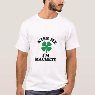 Kiss me, Im MACHETE T-Shirt