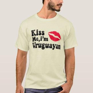 Kiss me I'm Uruguayan T-Shirt