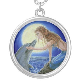 Kiss Me Mermaid & Dolphin Fantasy necklace