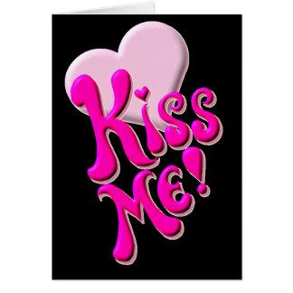 Kiss Me! (No Verse Inside) Card