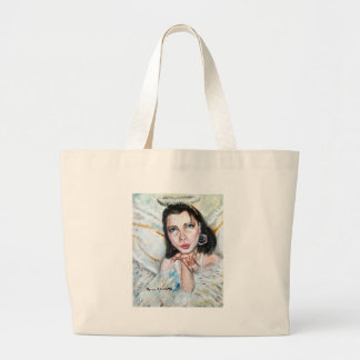 Kiss of an Angel Large Tote Bag