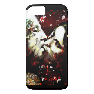 kissing in the rain iPhone 7 case