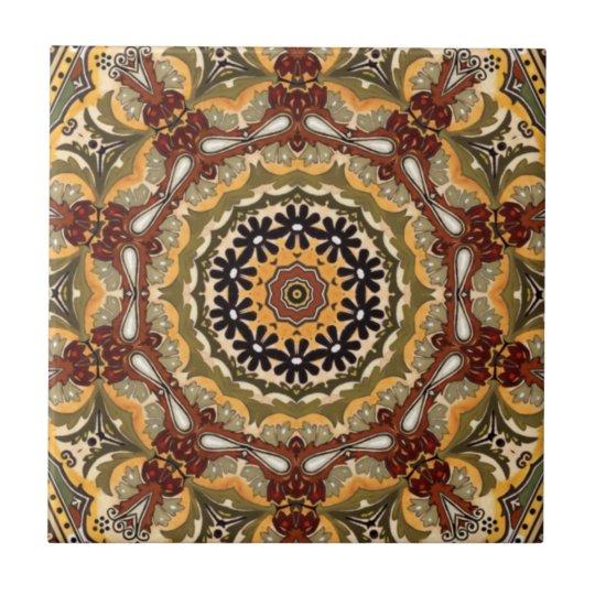Kitchen Backsplash Accent Tile Tuscan Colours Zazzle Co Nz