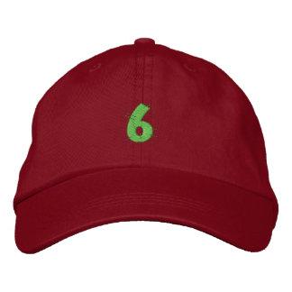 Kitchen Craft Number 6 Embroidered Hat