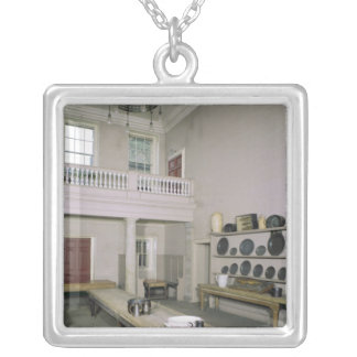 Kitchen Interior mid 18th century Silver Plated Necklace