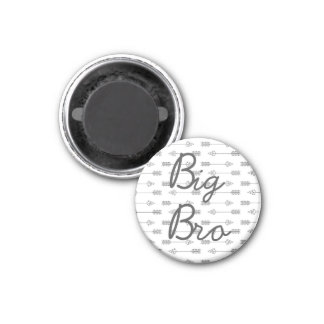Kitchen Magnet | Big Bro Brother Photo Holder