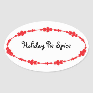 Kitchen Spice, Food, and Drink Labels Stickers
