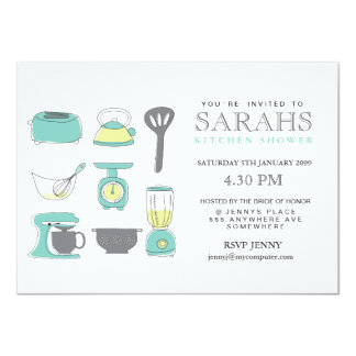 Shop Zazzle's selection of kitchen tea invitations for your special day!
