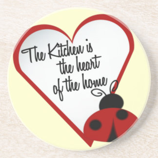 Kitchen the Heart of the Home Coasters