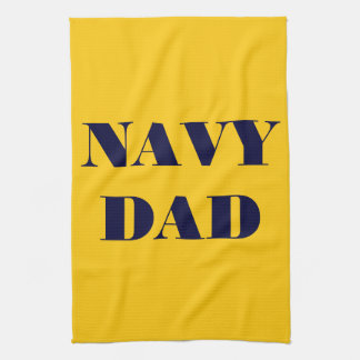 Kitchen Towel Proud Navy Dad