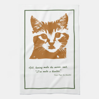 Kitchen Towel: The Cat