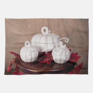 Kitchen Towels - Fall Theme Pumpkins