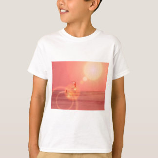 Kiteboarding Sunset Kids Shirt