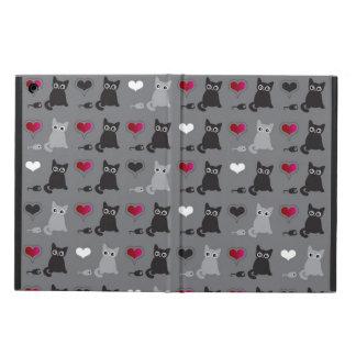 kitten and mice pattern iPad air case