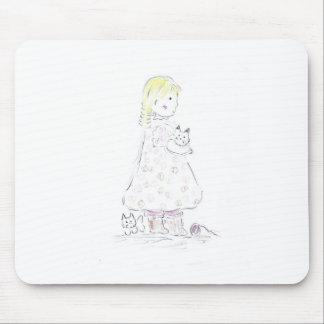 Kitten_friend Mouse Pad