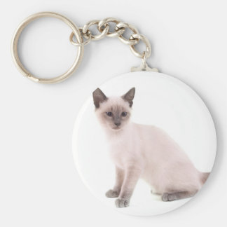kitten key ring