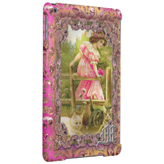 Kittens and Ribbons Victorian Cover For iPad Air