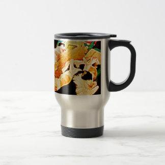 Kitties Painting Stainless Steel Travel Mug