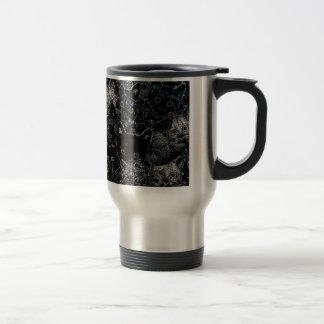Kitty Cat Art Stainless Steel Travel Mug