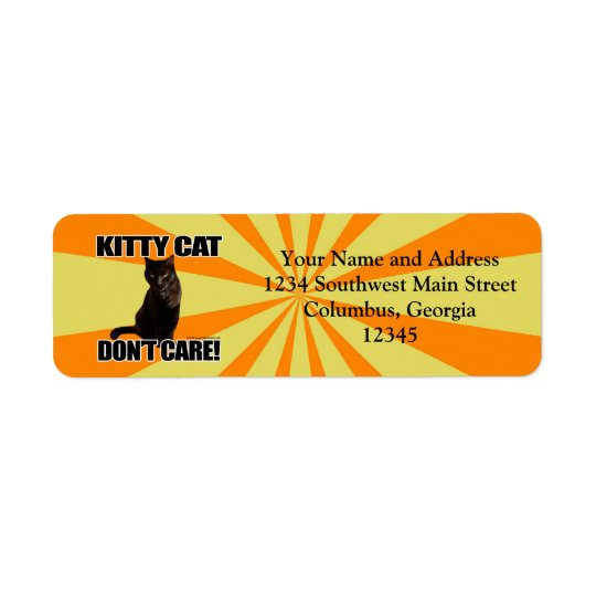 Kitty Cat Don't Care