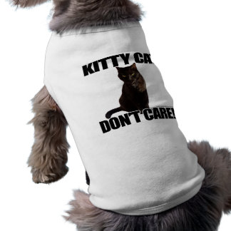 Kitty Cat Don't Care Shirt