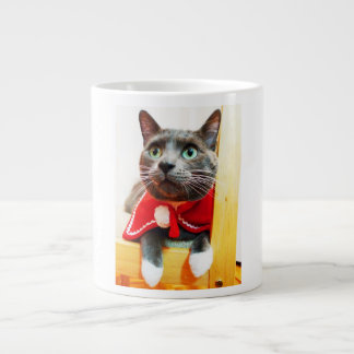 Kitty Cat mug Jumbo Mug