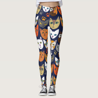 Kitty Cats Everyday Caturday Leggings