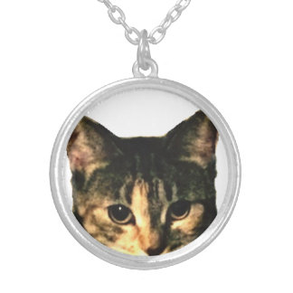 Kitty face necklace