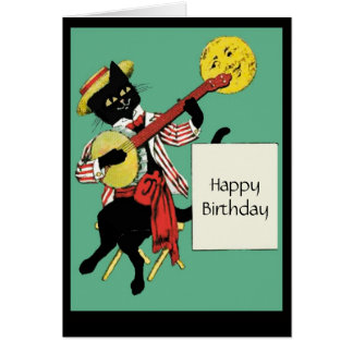 Kitty Letter Note Card